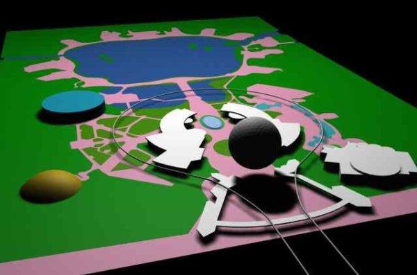 EPCOT Center 3D Render Model - 91101