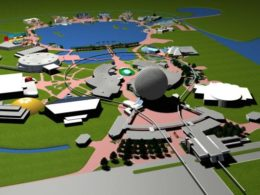 EPCOT Center 3D Render Model - 90802