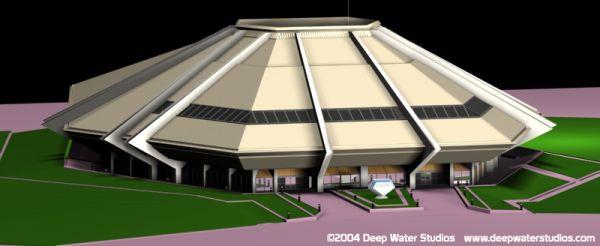 EPCOT Center Horizons 3D Model