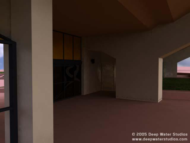 EPCOT Center Horizons 3D Render - Entrance closeup 9-8-05c
