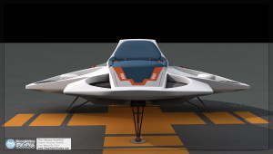 Epcot Horizons Hovercraft / Pegasus Hoverlift Front